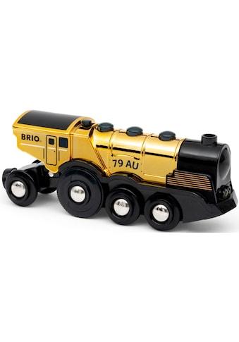 BRIO® Spielzeug-Zug »Goldene Batterielok«, mit Licht und Sound kaufen