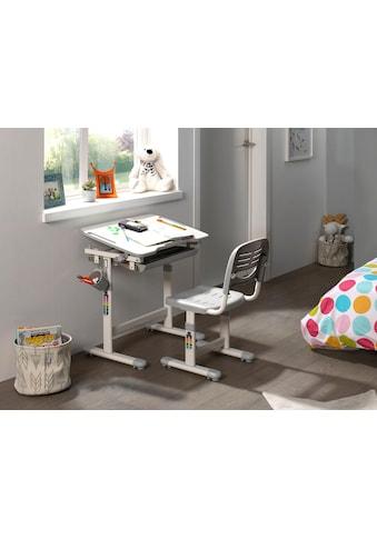Vipack Kinderschreibtisch »Comfortline«, (Set, mit Stuhl), ergenomisch höhenverstellbar kaufen