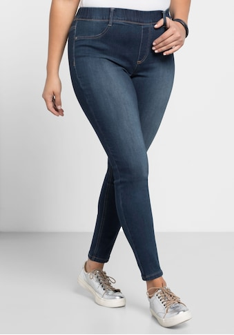Sheego Jeansjeggings, Power-Stretch-Qualität kaufen