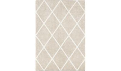 ELLE DECORATION Teppich »Lunel«, rechteckig, 17 mm Höhe, Hoch-Tief-Optik, Wohnzimmer kaufen