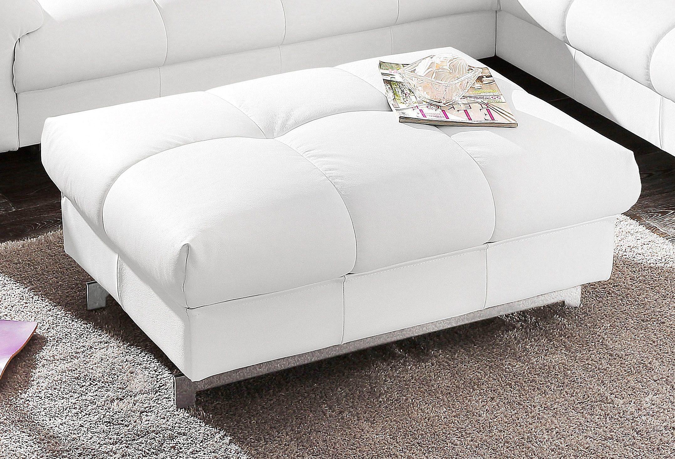 Hocker   Wohnzimmer > Hocker & Poufs > Sitzhocker   Leder - Microfaser   COTTA