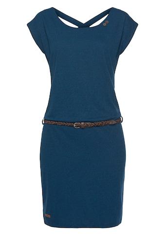 Ragwear Shirtkleid »SOFIA DRESS«, (2 tlg., mit abnehmbarem Gürtel), mit Melange-Optik kaufen
