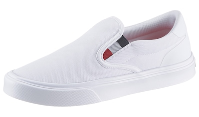 TOMMY HILFIGER Slip - On Sneaker »SLIP ON LIGHTWEIGHT KNIT SNEAKER SLIP ON« kaufen