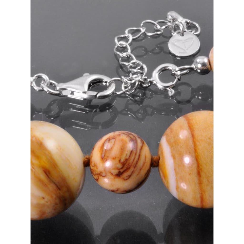 Adelia´s Kette ohne Anhänger »Versteinertes Holz Halskette«
