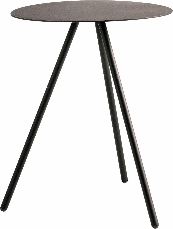 hülsta Beistelltisch MULTI - VARIS 02, aus Metall, Höhe 51 cm grau Beistelltische Tische