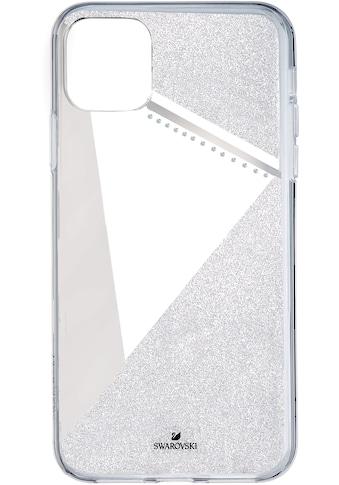 Swarovski Smartphone - Hülle »Subtle Smartphone Schutzhülle mit integriertem Stoßschutz, iPhone® 11 Pro, silberfarben, 5536847« kaufen