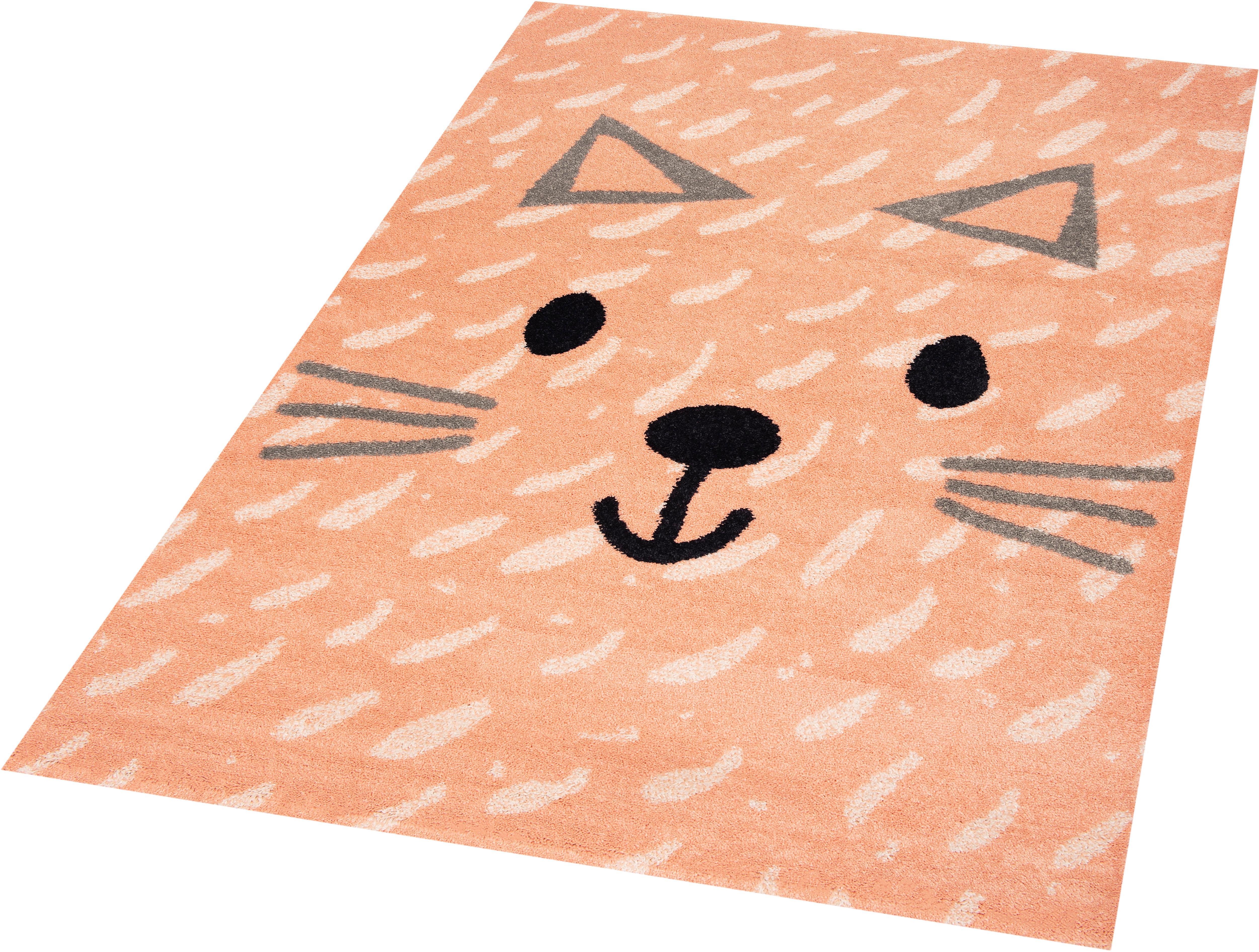 Kinderteppich Kitty Mabel Zala Living rechteckig Höhe 9 mm maschinell gewebt