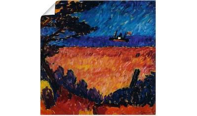 Artland Wandbild »Landschaft (an der Ostsee). 1911« kaufen