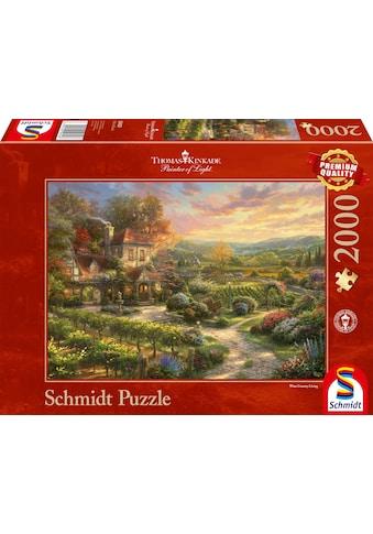 """Schmidt Spiele Puzzle """"In den Weinbergen"""" kaufen"""