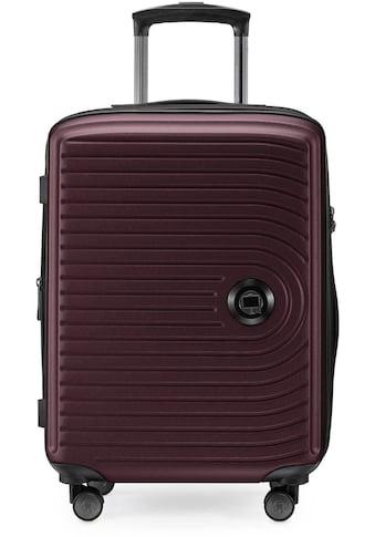 """Hauptstadtkoffer Hartschalen - Trolley """"Mitte, 55 cm, burgund"""", 4 Rollen kaufen"""