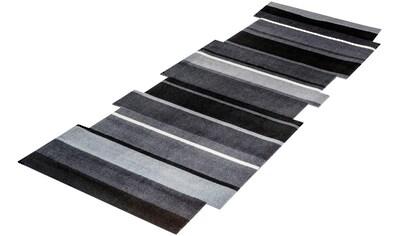 Läufer, »Dancing Steps«, wash+dry by Kleen - Tex, stufenförmig, Höhe 9 mm, gedruckt kaufen