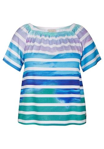 VIA APPIA Süßes Shirt mit Farbverlauf kaufen