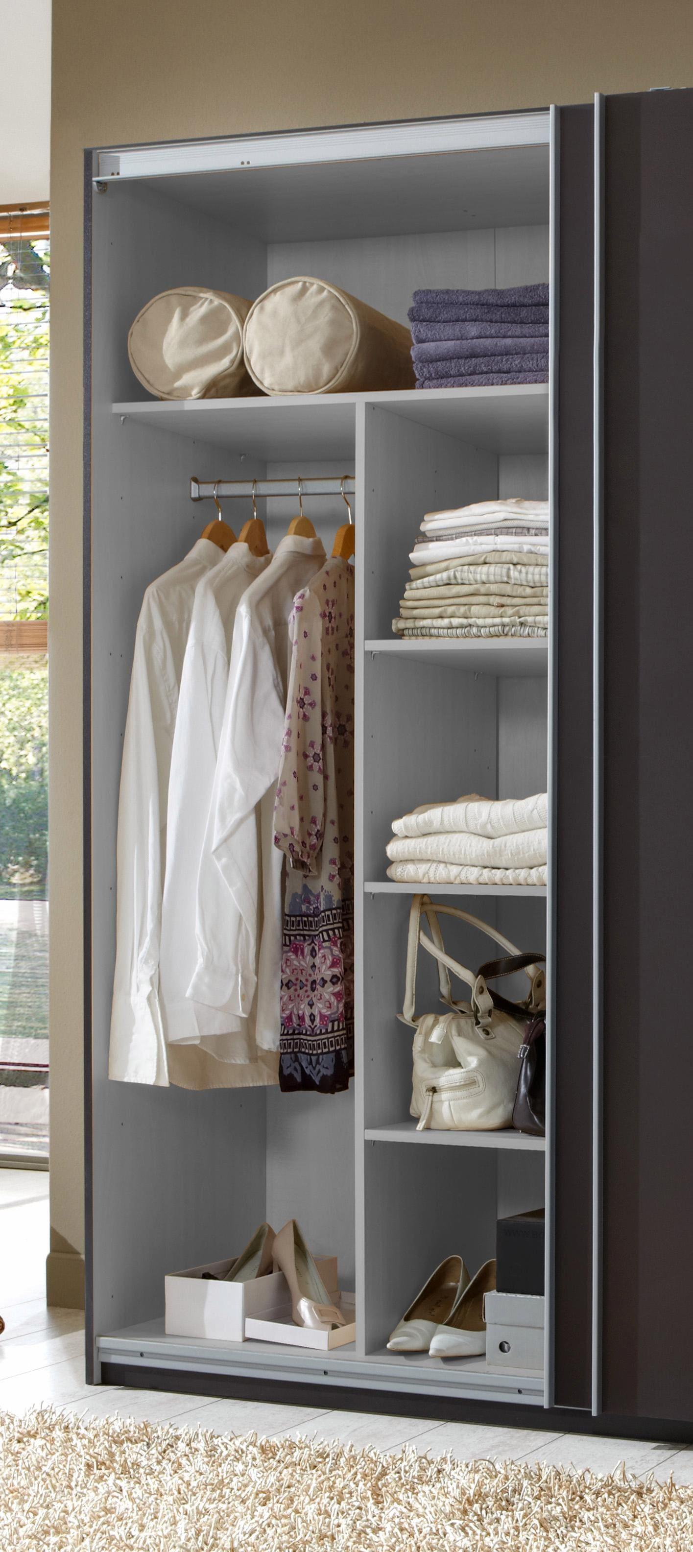 Wimex Inneneinteilung grau Zubehör für Kleiderschränke Möbel