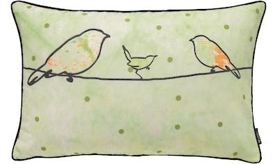 emotion textiles Kissenhülle »Crazy Birds« kaufen
