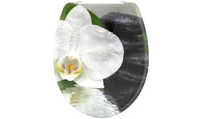 welltime WC-Sitz »White Flower«, mit Absenkautomatik, abnehmbar kaufen