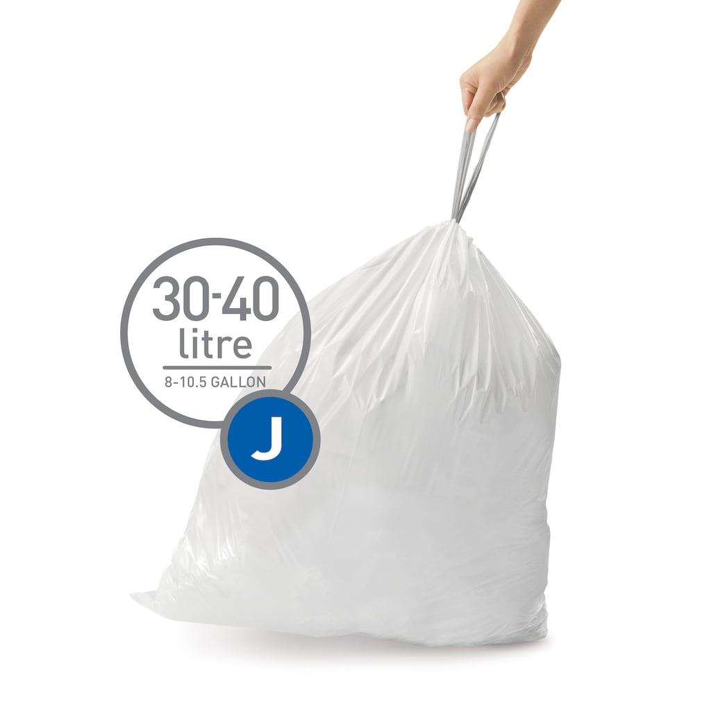simplehuman Müllbeutel passgenaue Müllbeutel Nachfüllpack code J