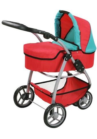 Knorrtoys® Puppenwagen »Cico - red green«, 2-in-1 kaufen