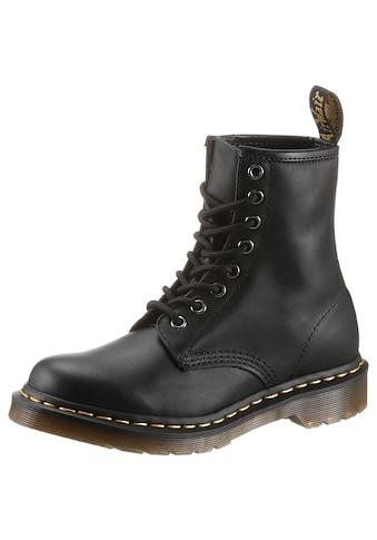 DR. MARTENS Schnürstiefel »1460 Nappa 8 Eye Boot«, mit Lederfutter kaufen