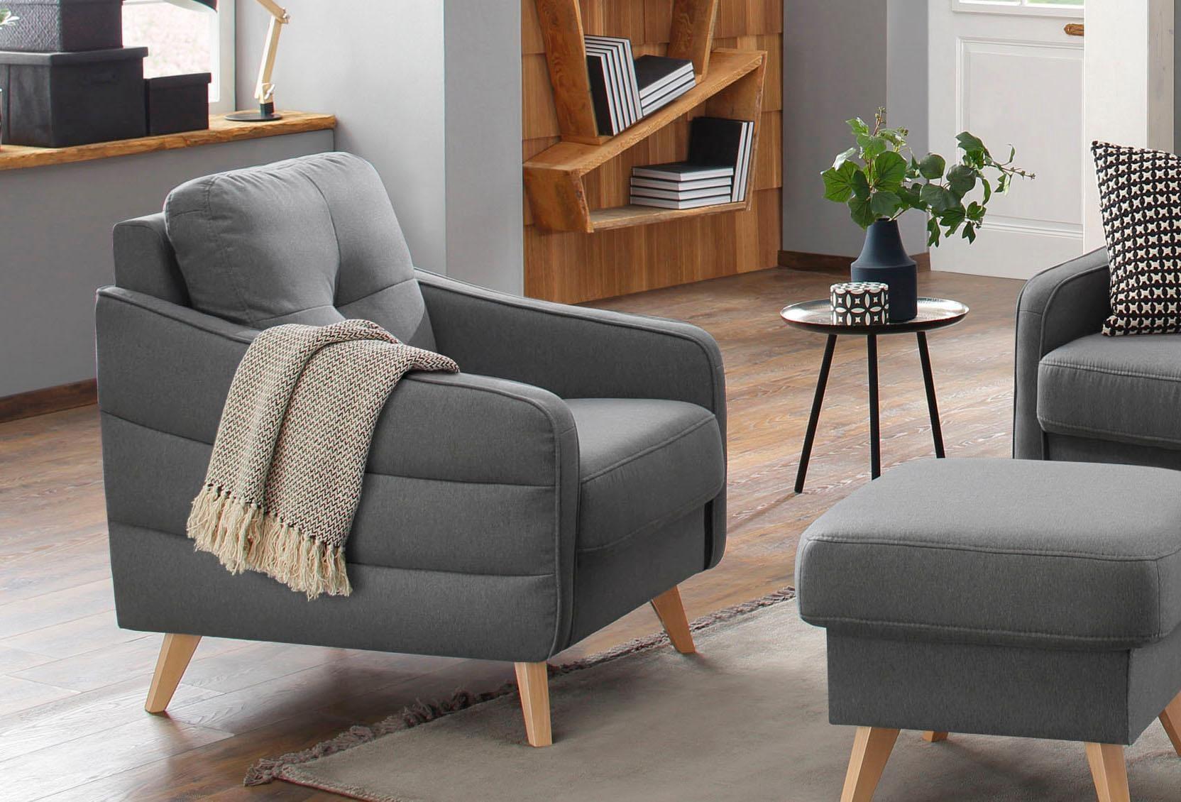 Home affaire Sessel Sotto mit hohem Sitzkomfort