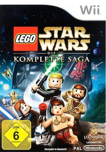 Lucas Arts Spiel »LEGO Star Wars: Die komplette Saga«, Nintendo Wii, Software Pyramide kaufen