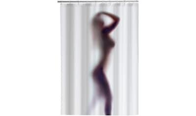 WENKO Duschvorhang »Silhouette«, Anti - Schimmel, 180 x 200 cm, waschbar kaufen