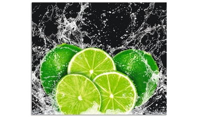 Artland Küchenrückwand »Limone mit Spritzwasser« kaufen