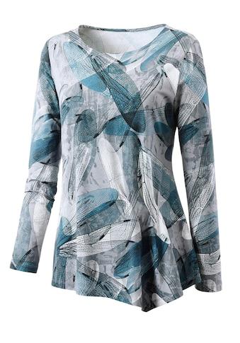 Alessa W. Shirt mit aufgedrucktem Libellenflügel kaufen