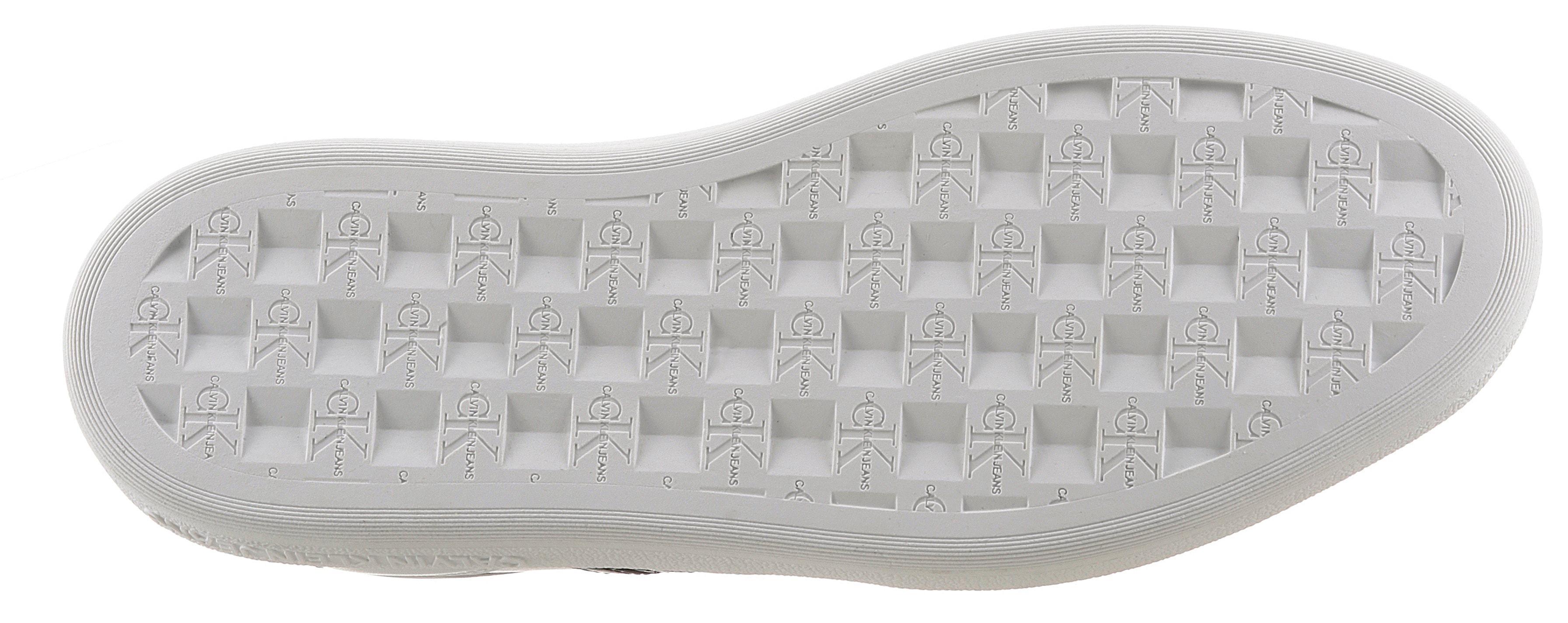 calvin klein -  Sneaker, mit Kontrastbesatz