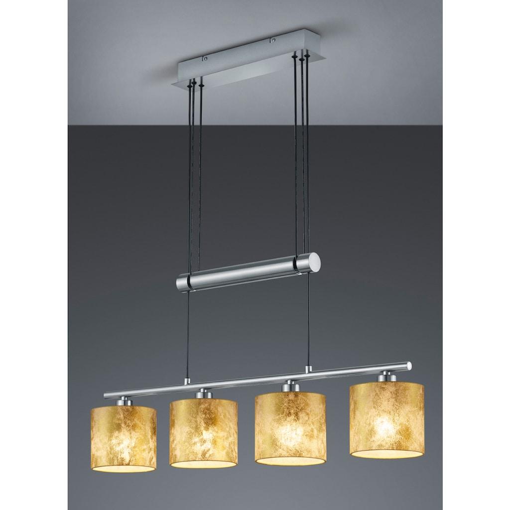 TRIO Leuchten LED Pendelleuchte »Garda«, E14, LED Hängelampe, LED Hängeleuchte, höhenverstellbar