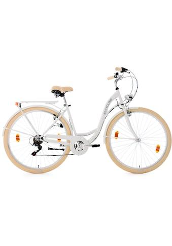 KS Cycling Cityrad »Balloon«, 6 Gang, Shimano, Tourney RD-TZ 50 Schaltwerk,... kaufen