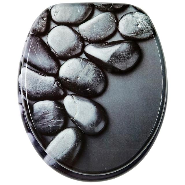 SANILO WC-Sitz »Hot Stones«