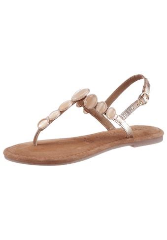 Tamaris Sandale, mit eleganten Steinchen verziert kaufen