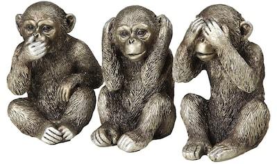 Ambiente Haus Dekofigur »3 Affen Set« kaufen