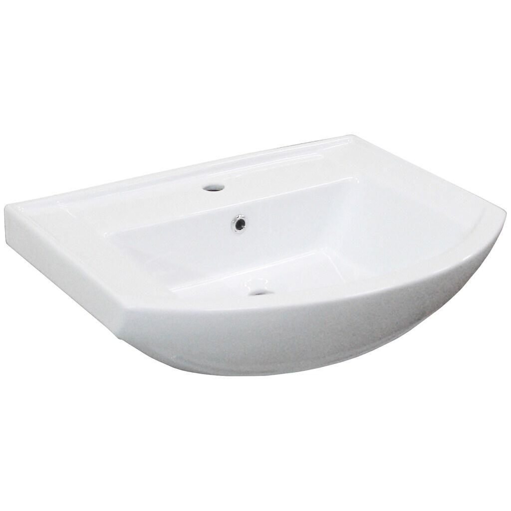 FACKELMANN Waschbecken »A-Vero«, mit Überlauf, Breite 65 cm