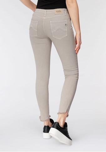 Please Jeans Röhrenjeans »P 93O«, Slim Fit Powerstretch mit Open seams kaufen