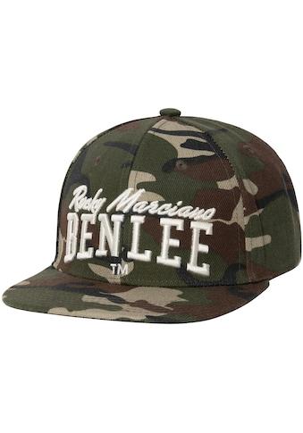 Benlee Rocky Marciano Snapback Cap »MASSIMO«, mit Markenstickerei kaufen