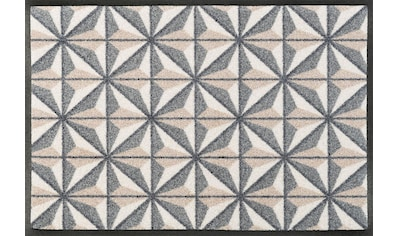 wash+dry by Kleen-Tex Fußmatte »Kubus«, rechteckig, 7 mm Höhe, Schmutzfangmatte kaufen