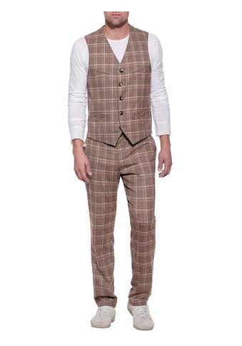 Herrlicher Anzugweste mit Karo-Muster kaufen