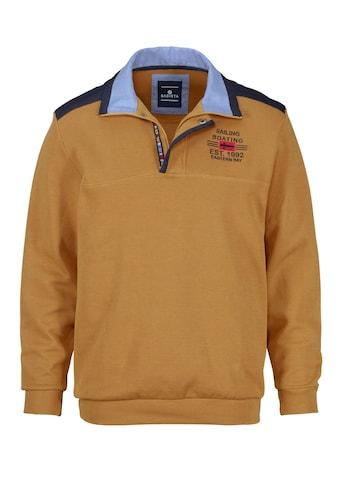Babista Sweatshirt mit aufwändigem Kragen kaufen