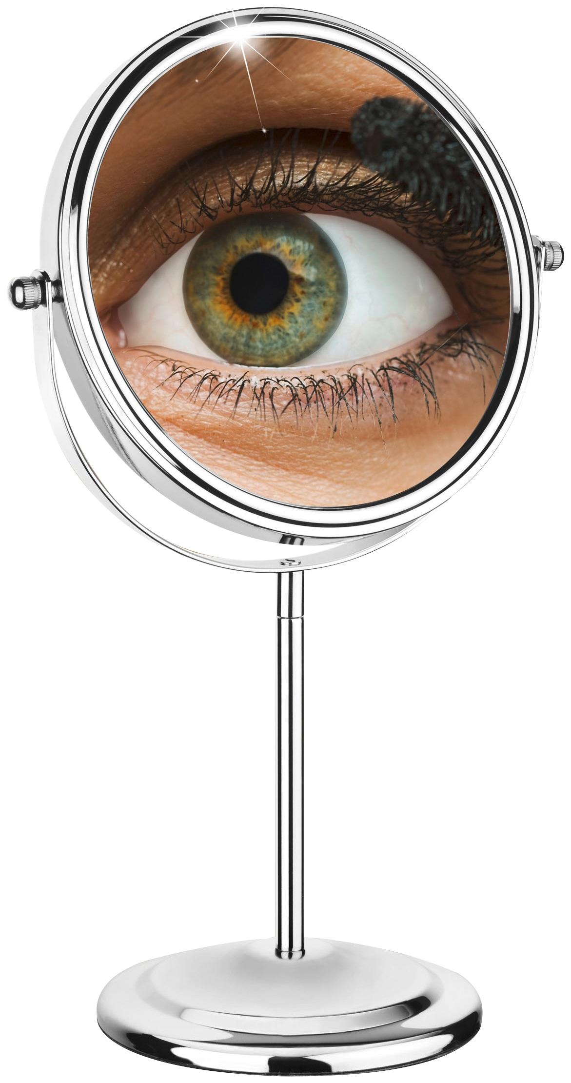 WENKO Kosmetikspiegel Schminkhilfe, 7-fache Vergrößerung | Bad > Bad-Accessoires > Kosmetikspiegel | Wenko