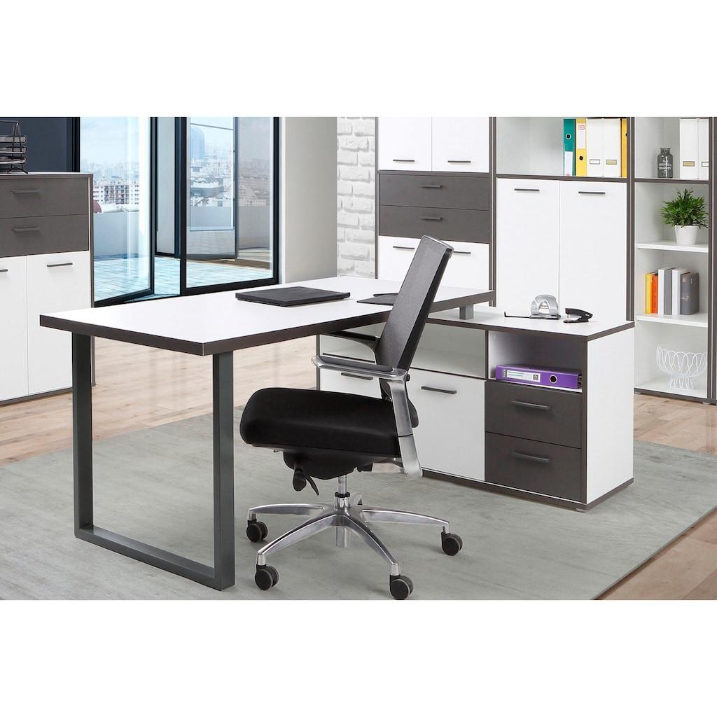 FORTE Schreibtisch »Keflav«, Breite 124,2 cm