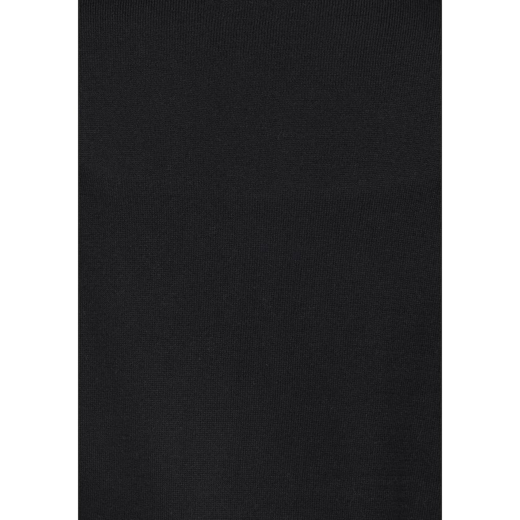 Boysen's Strickmantel, in modischer Longform