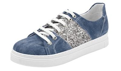 Sneaker mit Glitzereinsatz kaufen