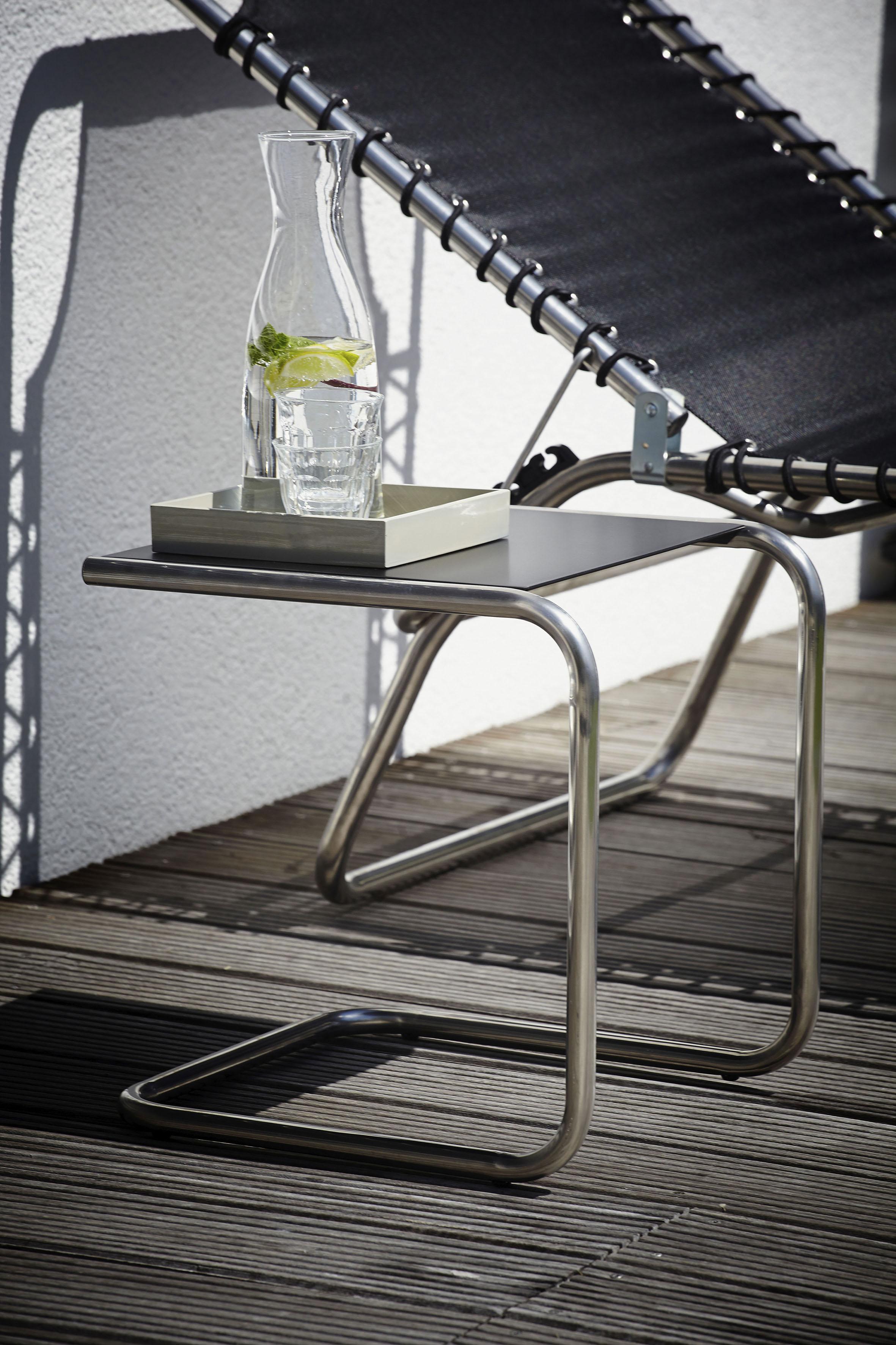 jankurtz Beistelltisch fiam club, in liegender U-Form schwarz Beistelltische Tische