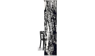 Schiebegardine, »Holz«, emotion textiles, Klettband 1 Stück kaufen