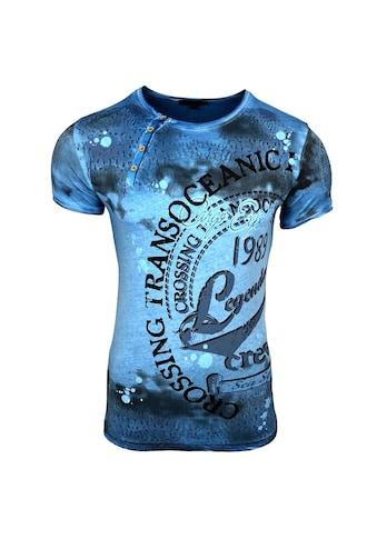 Rusty Neal T - Shirt mit großem Print kaufen