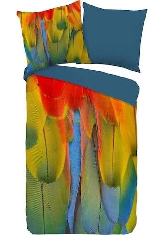 PURE luxury collection Wendebettwäsche »Rainbowfeathers«, mit Federn kaufen