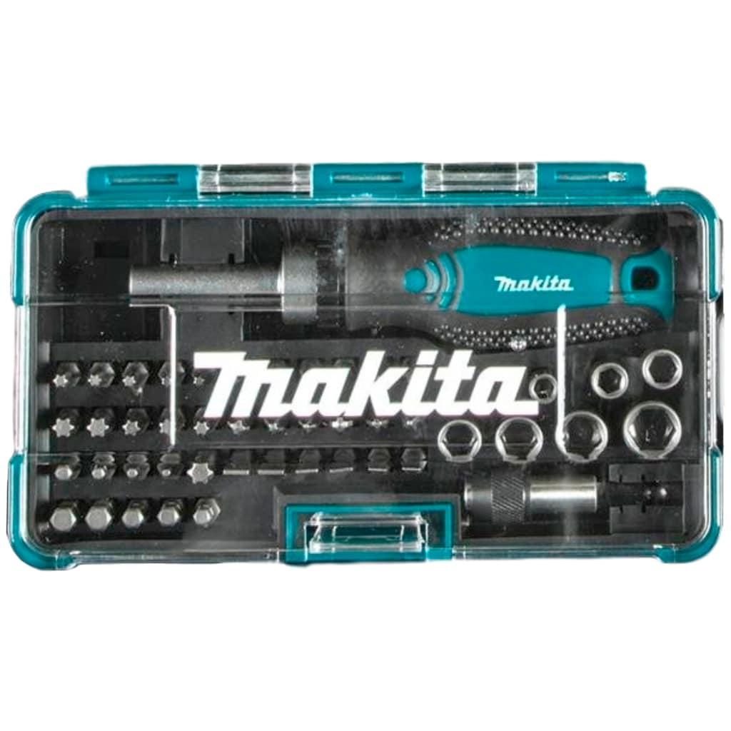 Makita Werkzeugset »B-49884«, (Set, 116 St.), inklusive Zubehör