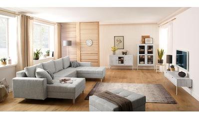 Home affaire Sideboard »Freya«, mit 2 Holztüren, 1 Glastür, Metallgriffen, aus... kaufen