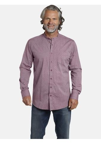 Jan Vanderstorm Langarmhemd »LEEVEN«, Doppelpack Baumwollhemd kaufen